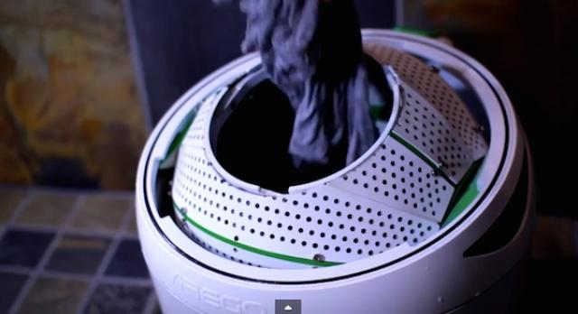 Стиральная машина Drumi работает без электричества