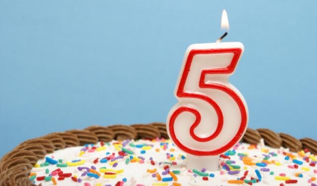 Android отпраздновал 5-летие!