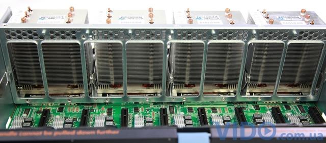 Обзор стоечного сервера HP ProLiant DL980 G7