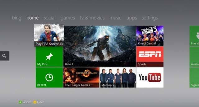 Xbox 360 теперь поддерживает USB накопители объемом до 32Гб