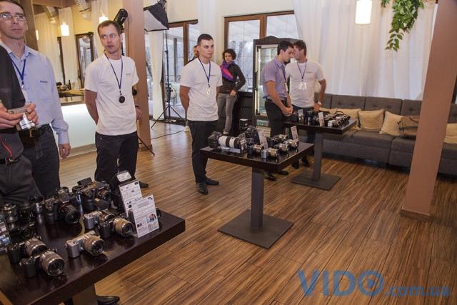 В Киеве состоялась презентация новых фотокамер Sony