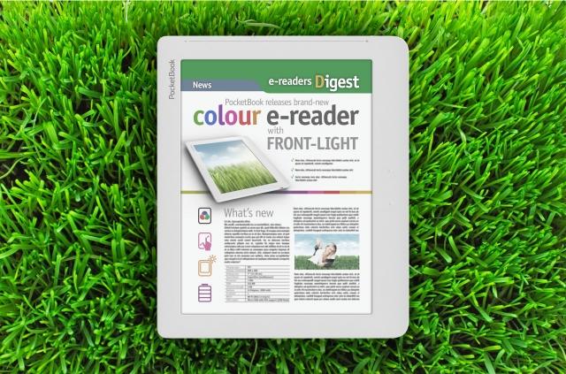 PocketBook с цветным E-ink экраном. Первый в мире!
