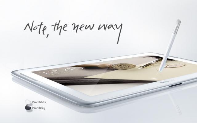 Планшет Samsung Galaxy Note 10.1 - часть Бриллиантовой коллекции королевы Великобритании
