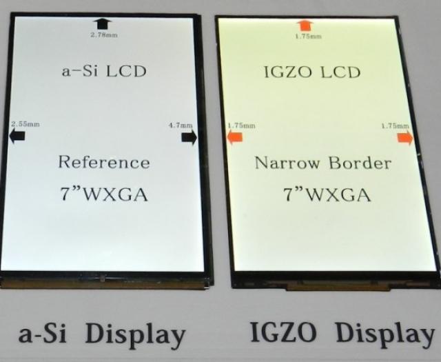 Intel инвестирует в IGZO технологии от Sharp
