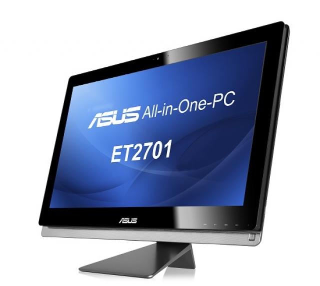 27-дюймовые моноблочные компьютеры ASUS серии ET2701 с поддержкой Windows 8