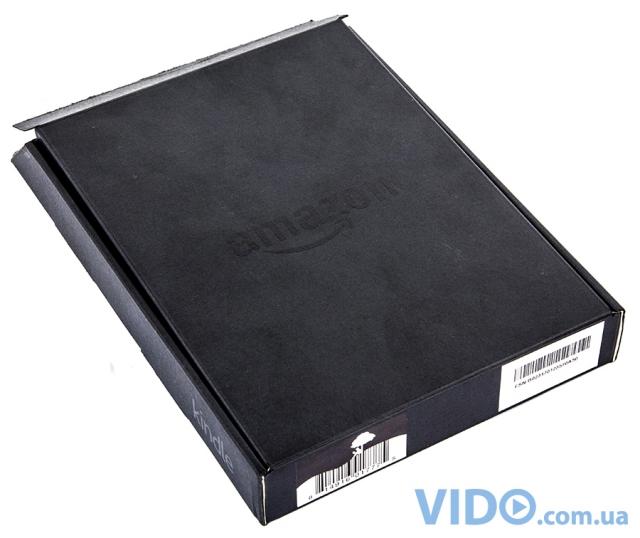 Amazon Kindle 5: черный корпус + дисплей с повышенным уровнем контрастности