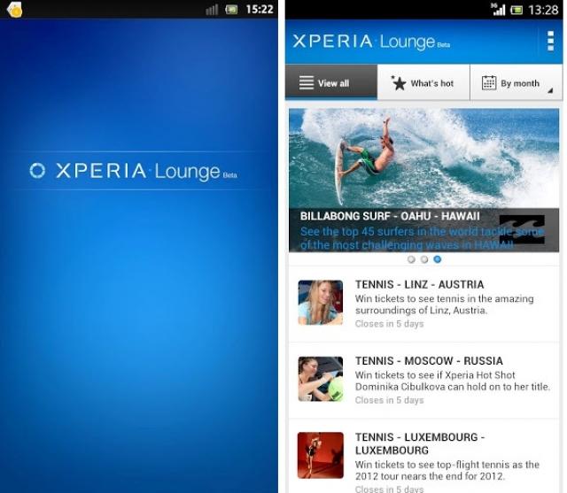 Sony представляет новый центр развлечений Xperia Lounge