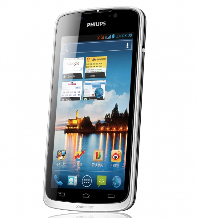 Philips анонсировала Xenium W832