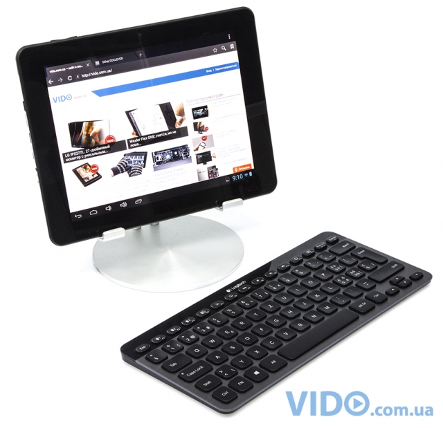 Logitech Bluetooth Illuminated Keyboard K810: три устройства – одна клавиатура