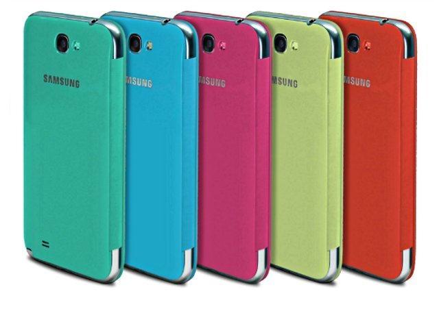 Яркие чехлы для Galaxy Note 2 и Galaxy S3 от Samsung