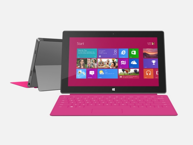 Стала известна цена на Microsoft Surface с Windows 8 Pro