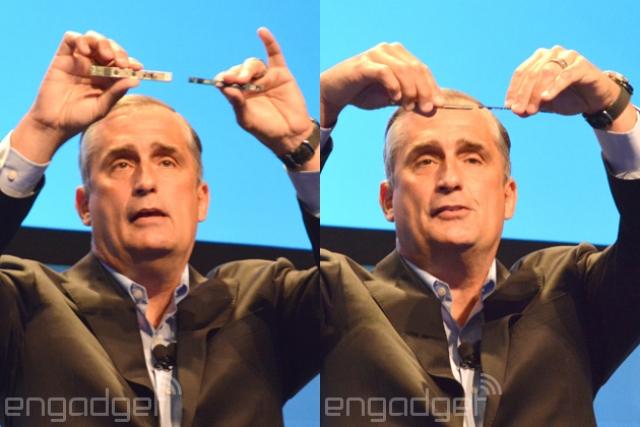 Intel модифицировали свой 3D-сканер для использования в смартфонах