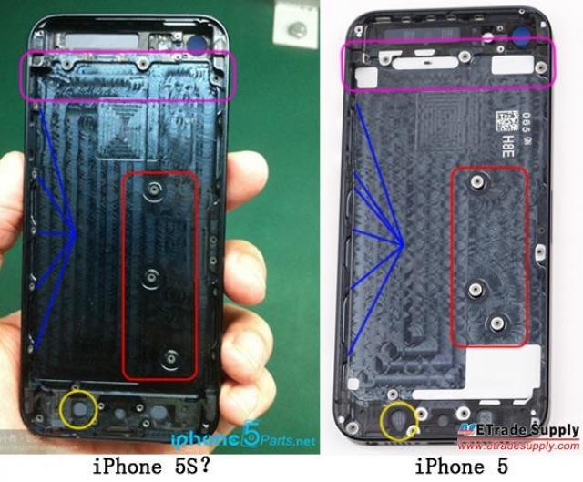 Фото нового iPhone 5S сбежали в сеть?