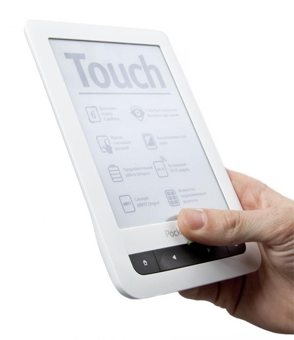 PocketBook Touch с новой прошивкой