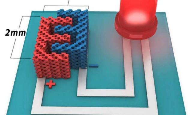 Новая микробатарея может отдельно питать чипы