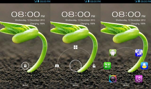 dUnlock для Symbian^3 смартфонов – разблокировка в стиле Android