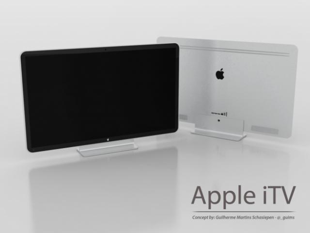 Apple тестирует дизайн  HD TV