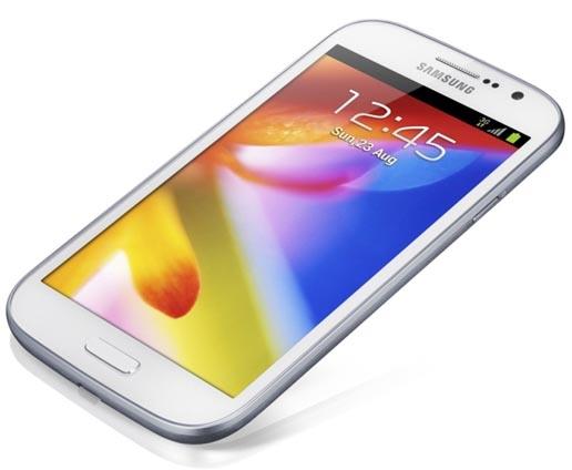Samsung представляет GALAXY Grand с большим экраном и средними функциями