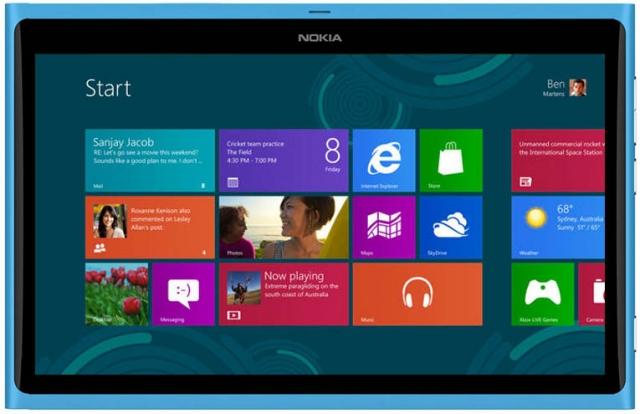 Nokia готовит планшет на Windows RT для MWC 2013