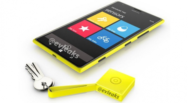 Nokia покажет Treasure Tag на MWC 2014