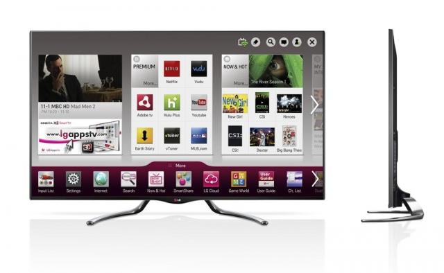 На CES 2013 компания LG представит новые телевизоры Google TV