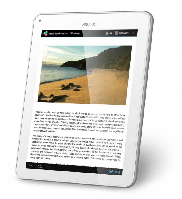 Archos 97 Titanium HD – новый планшет на Android