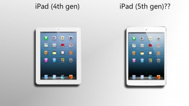 Пятое поколение iPad может появиться уже в марте 2013