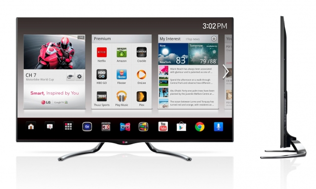 CES 2013: новые телевизоры LG на платформе Google TV