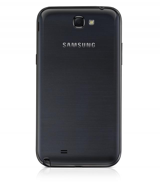 Samsung представит черную версию Galaxy Note II