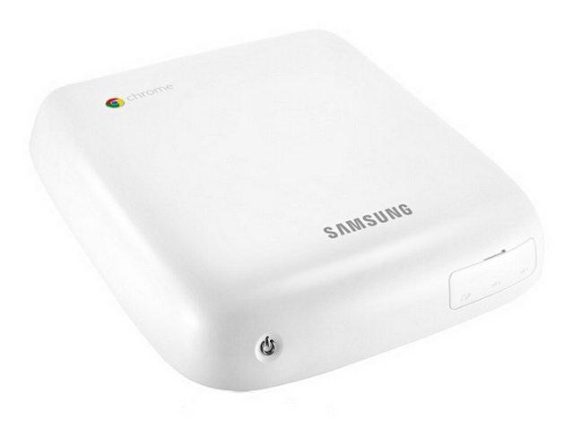 Новый внешний вид Samsung Chromebox