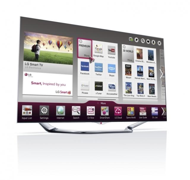 Новая линейка «умных» телевизоров на CES от LG