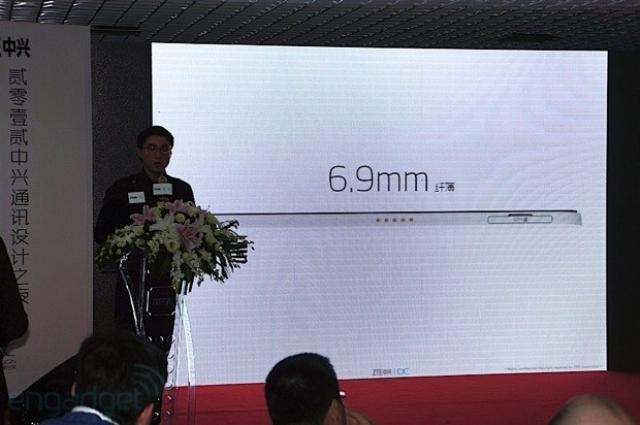 ZTE Grand S на CES 2013: толщина 6.9 мм и камера 13 Мп