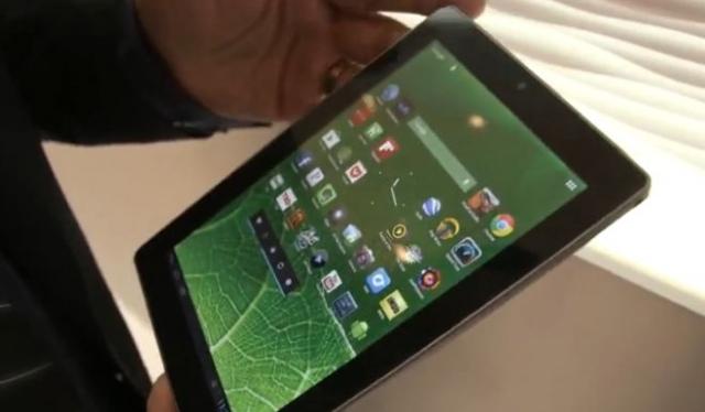 CES 2013: 7-дюймовый планшет Vizio, оптимизированный для чтения
