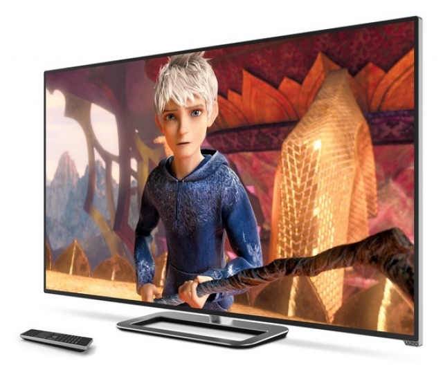 На CES 2013 Vizio побаловала посетителей телевизорами 4K UHDTV