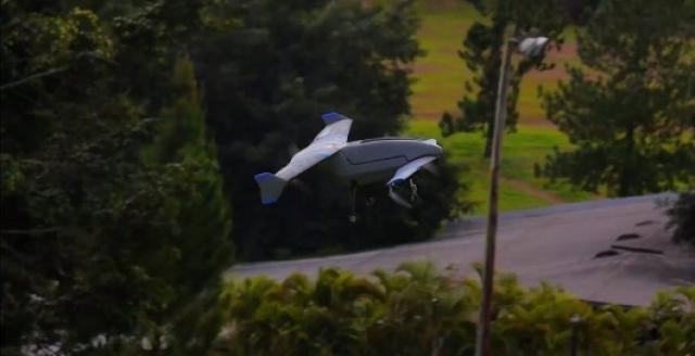 Гибридный беспилотник Vertex сочетает в себе характеристики самолета и вертолета
