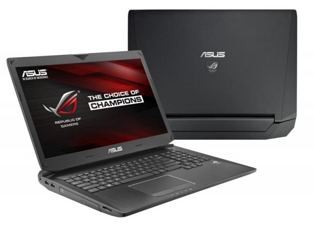 Новые ноутбуки ASUS  Republic of Gamers