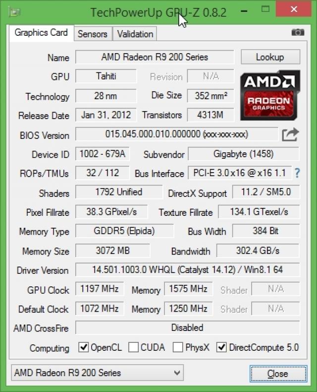 Обзор видеокарты Gigabyte Radeon R9 280: тройное охлаждение