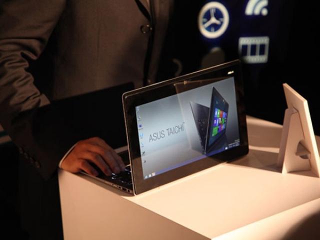 Asus Taichi – ультрабук с двумя экранами