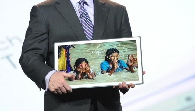 В Panasonic поместили 4K в 20-дюймовый планшет