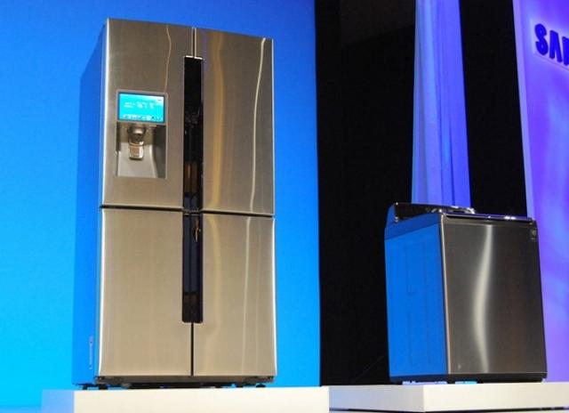 CES 2013: Samsung представила холодильник с сенсорным экраном