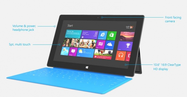 Советы по зарядке аккумулятора Surface RT от Microsoft
