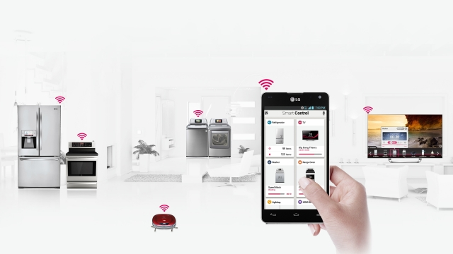 «Умный дом» от LG на CES 2013: удаленное управление бытовой техникой