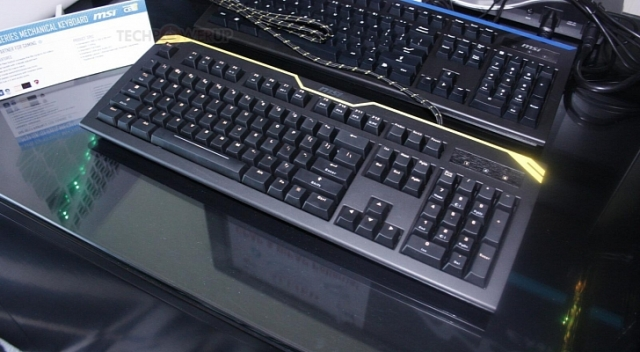 CES 2013: Компания MSI представила свою первую клавиатуру