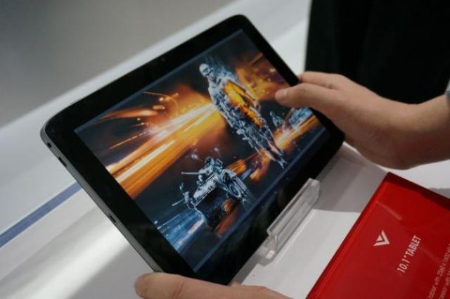 Vizio анонсировала первый планшет на Tegra 4