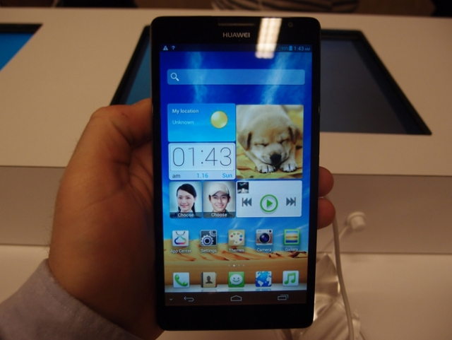 Знакомимся с Huawei Ascend Mate и Ascend D