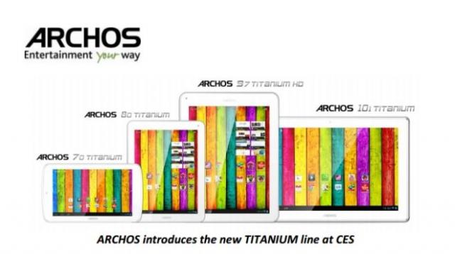 Планшеты Titanium от Archos