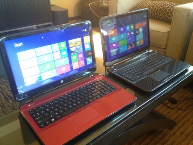 CES 2013: HP представила новые устройства: Pavilion TouchSmart Sleekbook и Pavilion Sleekbook