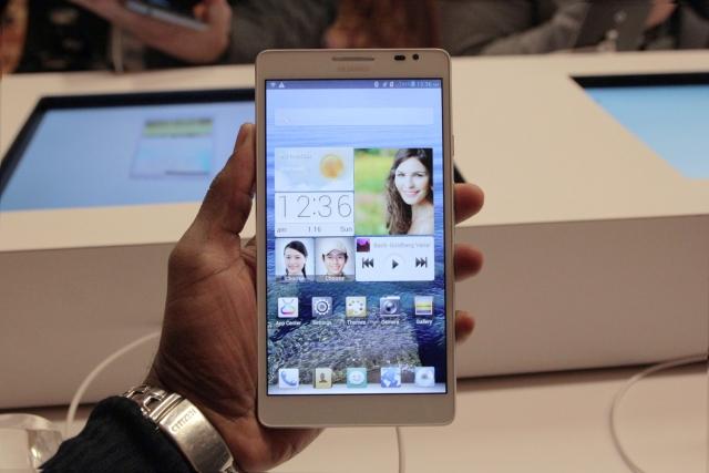 HUAWEI Ascend Mate - смартфон с самым большим экраном