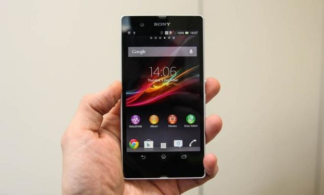 Видео: Sony Xperia Z проходит тест на водостойкость