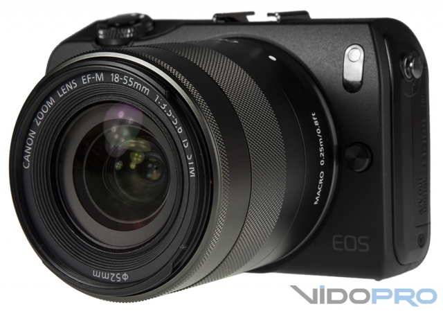 Canon EOS M: компактность без потери качества